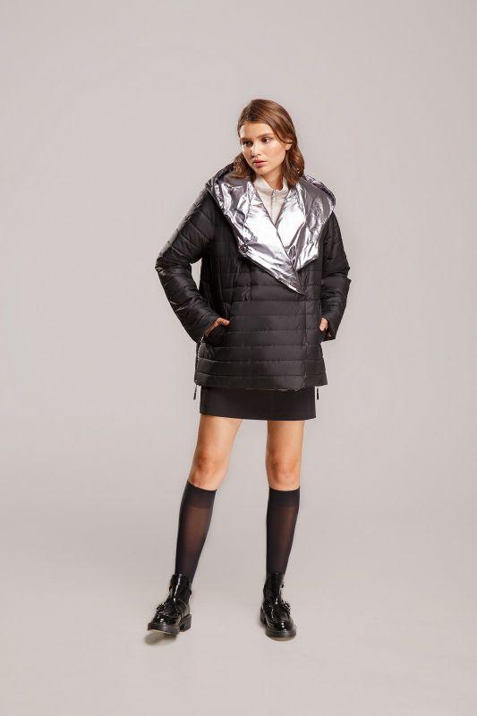 Куртка Alberto Bini Черный с серебряным