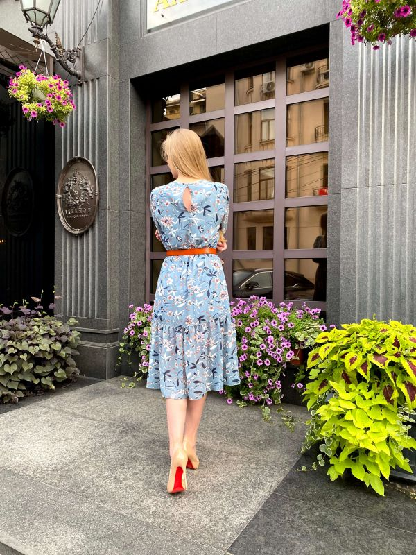 Платье Alberto Bini Светло-голубой