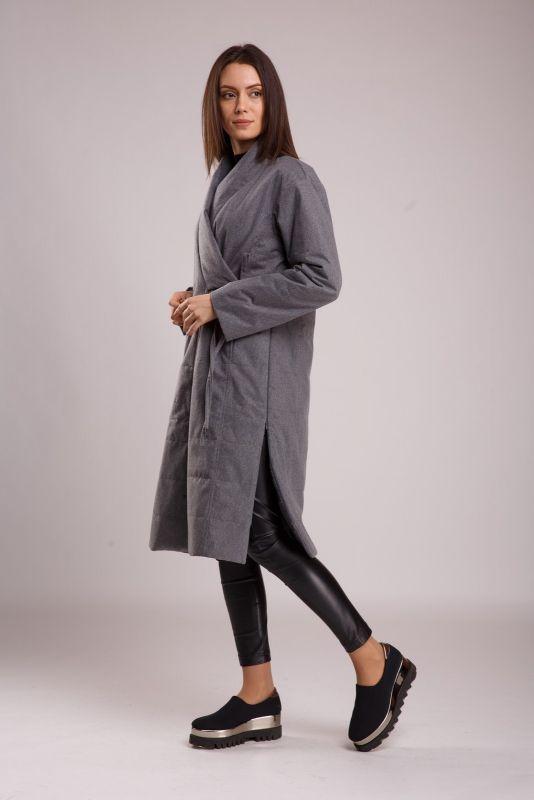 Пальто Alberto Bini Темно-серый