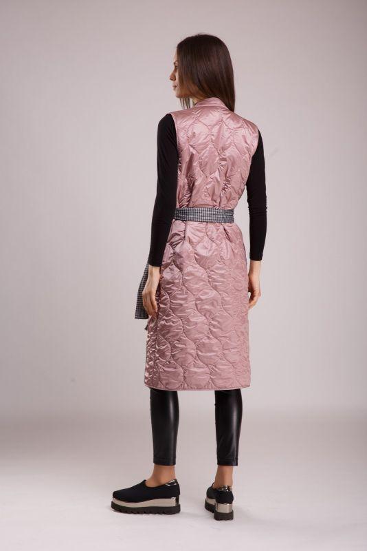 Жилет Alberto Bini Розовый с серым