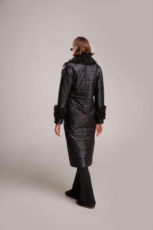 Пальто Alberto Bini Чёрный