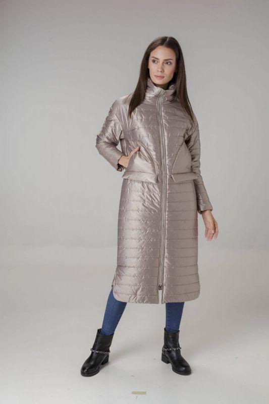 Пальто Alberto Bini Бежевый