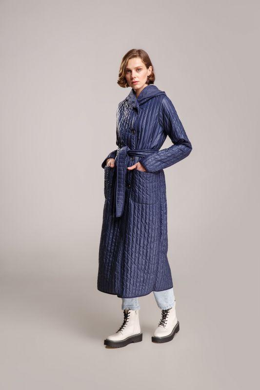 Пальто Alberto Bini Темно-синий