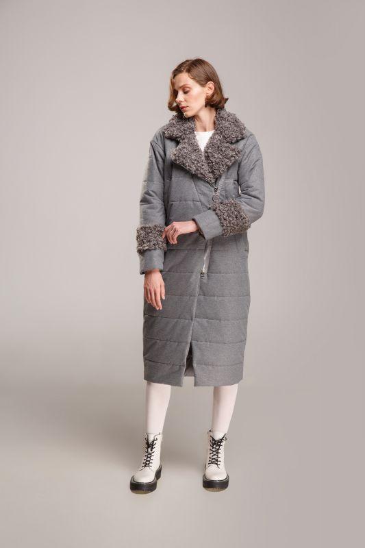 Пальто Alberto Bini Серый