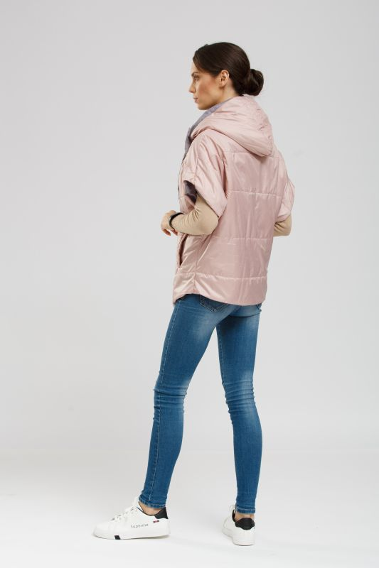 Жилет Alberto Bini Розово-серый