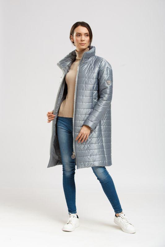 Пальто Alberto Bini Зелено-серый