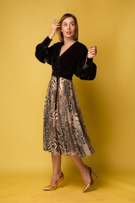 Платье Alberto Bini Коричневый